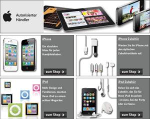 Apple Markenshop bei Universal!