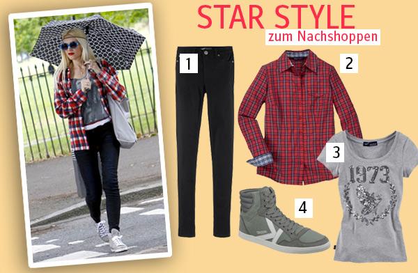 Lässiger Street Style à la Gwen Stefanie