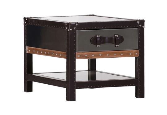 beistelltisch couchtisch retro couchtisch koffer. Black Bedroom Furniture Sets. Home Design Ideas