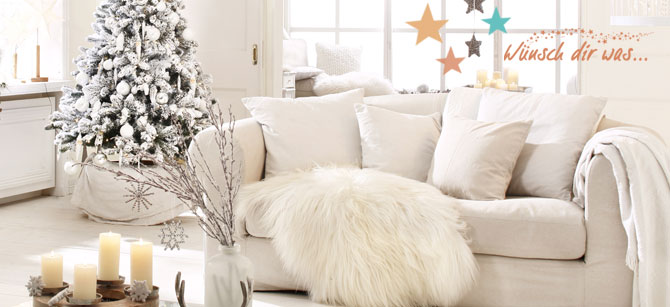 Weihnachten Steht Vor Der Tür. Schon Lange Unterliegt Auch Dieses Fest Den  Trends. Dieses Jahr Wird Es Edel. Kupfer, Ein Zartes Rosa Und Weiß Sind Die  ...