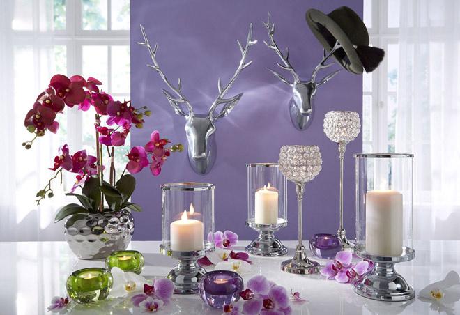 Vasen und kerzen als dekoration im fr hjahr universal blog for Dekoration in der wohnung