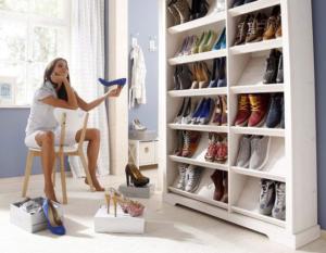 Hier bekommen deine Schuhe einen Ehrenplatz
