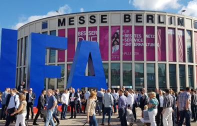 Messegelaende der Technik Messe IFA von aussen