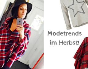 Modebloggerin Verena Kemperling im Karo Cape