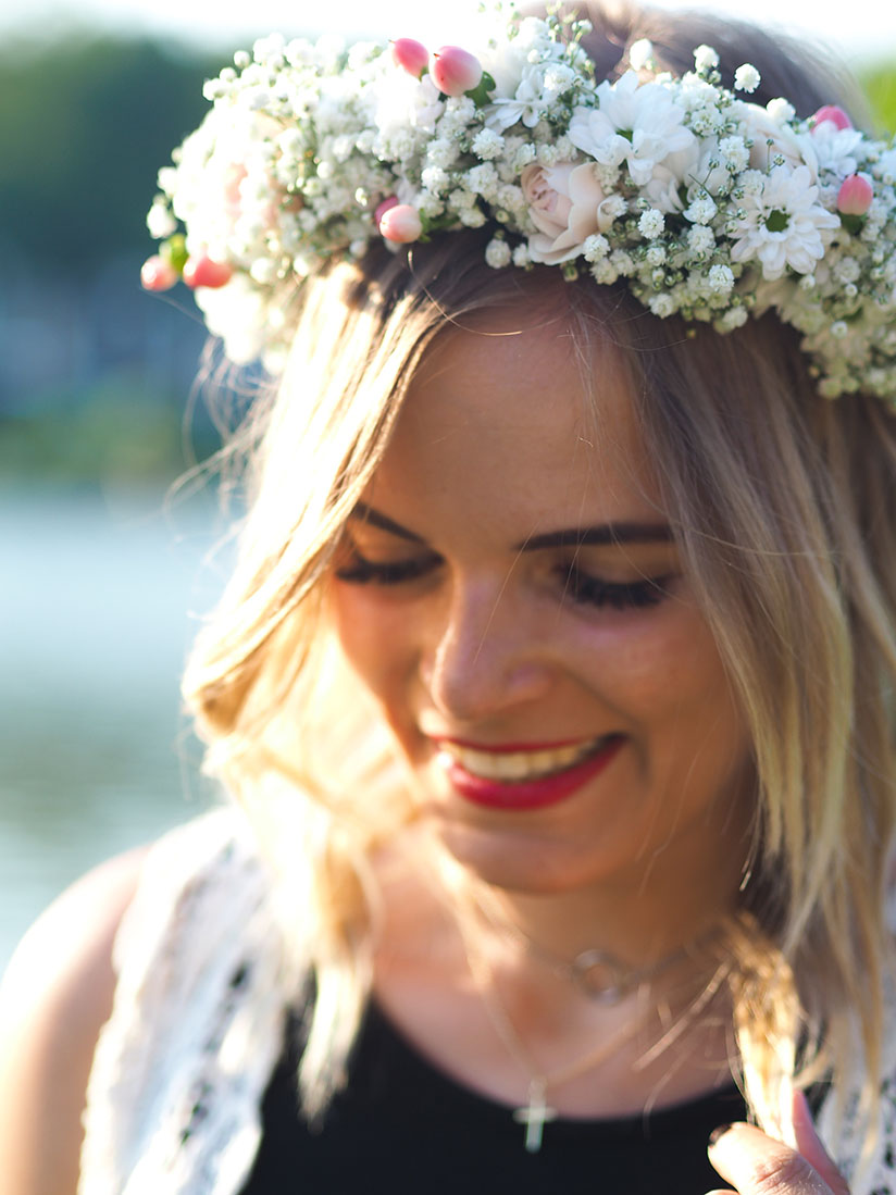 Blumenkranz Fur Die Hochzeit Hingucker In Perfektion