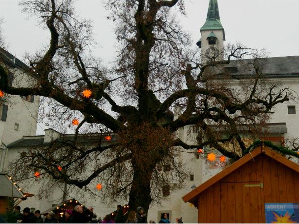 Christkindlmarkt Salzburg Festung