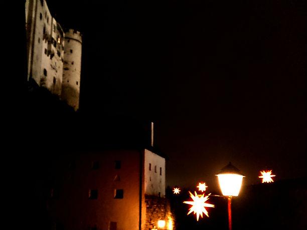 Festung Hohensalzburg im Advent