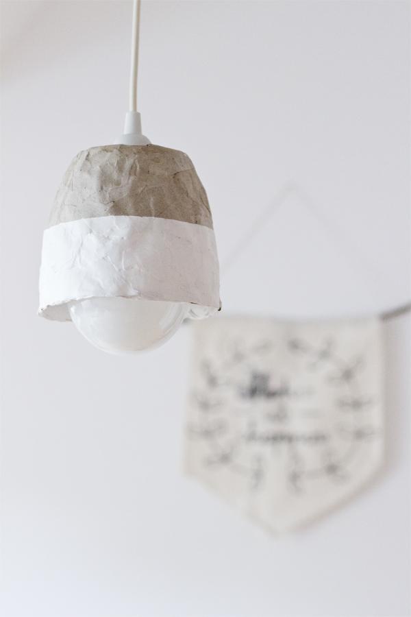 betonlook lampen selber machen aus k chenrollen. Black Bedroom Furniture Sets. Home Design Ideas
