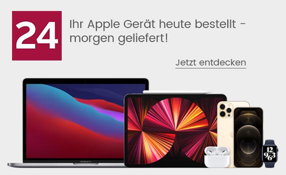 Ihr Apple Gerät heute bestellt - morgen geliefert