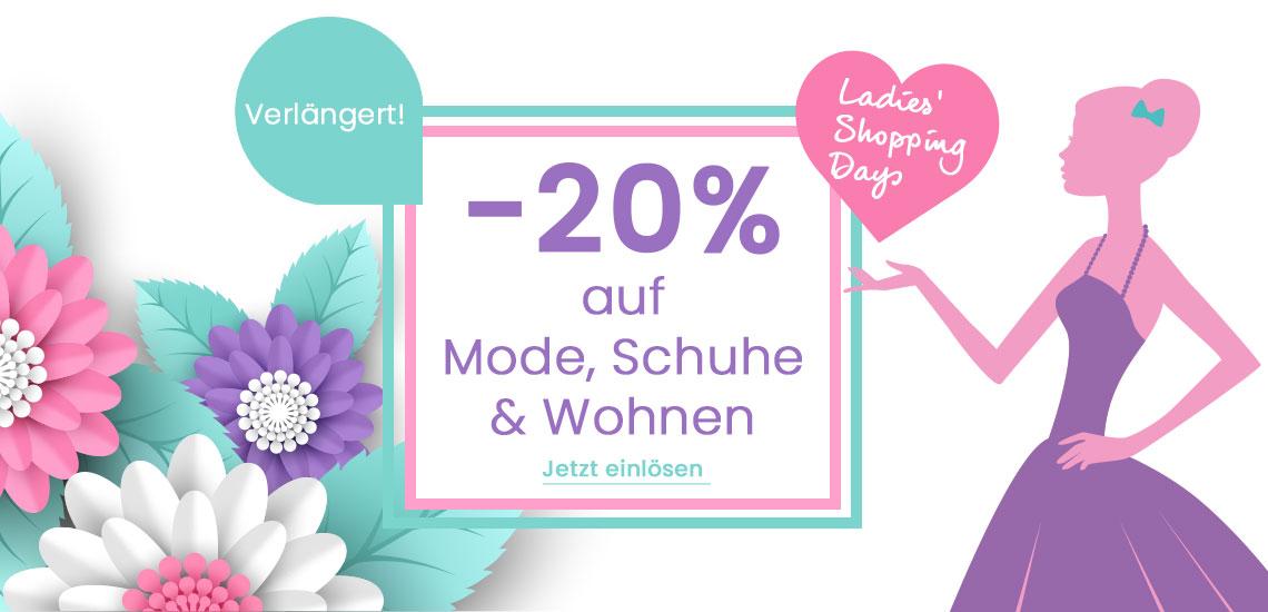-20% auf Mode, Schuhe und Wohnen bei Universal einlösen