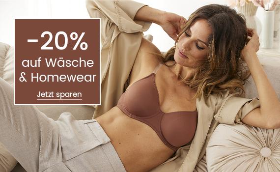 -20% auf Wäsche & Homewear bei Universal kaufen